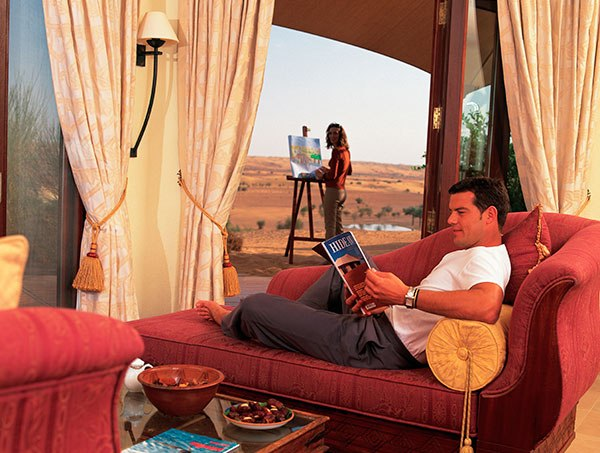 Al Maha Desert Resort Spa