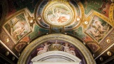 Ceiling detail frescoes. Four Seasons Hotel Firenze 5*